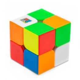 MoYu MFJS RS2 M 2x2 magnetic speed cube, stickerless